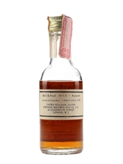 Wild Turkey 8 Year Old 101 Proof Bottled 1970s - Atkinson, Baldwin And Co. 5cl / 50.5%
