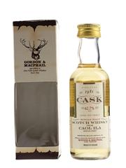 Caol Ila 1981 Cask Strength Bottled 1997 - Gordon & MacPhail 5cl / 62.7%