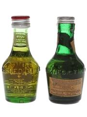 Benedictine DOM Bottled 1960s-1970s 2 x 3cl