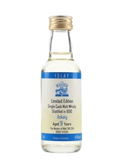 Askaig 1990 9 Year Old Bottled 1990s - The Master Of Malt 5cl / 43%