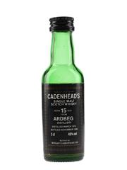 Ardbeg 1975 15 Year Old Bottled 1990 - Cadenhead's 5cl / 46%