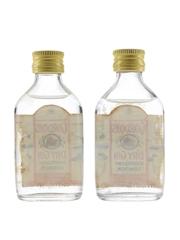 Gordon's London Dry Gin Bottled 1970s 2 x 5cl