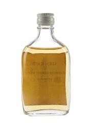 Usher's Old Vatted Glenlivet Bottled 1960s 5cl / 40%