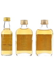Pride Of Islay, Lowlands & Orkney 12 Year Old Bottled 1980s & 1990s - Gordon & MacPhail 3 x 5cl / 40%
