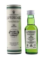 Laphroaig 10 Year Old Bottled 1990s 5cl / 40%