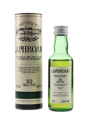 Laphroaig 10 Year Old Bottled 1990s - Pre Royal Warrant 5cl / 43%