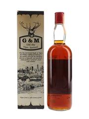 Macallan Glenlivet 1937 Gordon & MacPhail Bottled 1960s 75.7% / 40%