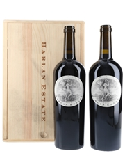 Harlan Estate 2012 Bottled 2015 - Napa Valley 2 x 75cl / 14.5%