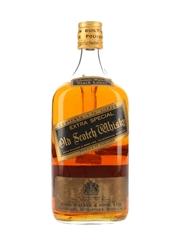 Johnnie Walker Black Label Extra Special Bottled 1970s - Large Format 175cl