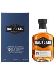 Balblair 15 Year Old