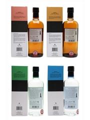 Nikka Coffey Grain, Malt, Gin & Vodka  4 x 70cl