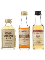 Deanston Malt, Glendronach & Glenmorangie
