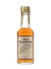 Old Forester 100 Proof Bottled In Bond