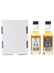 Aerstone 10 Year Old Sea Cask & Land Cask William Grant & Sons 2 x 5cl / 40%