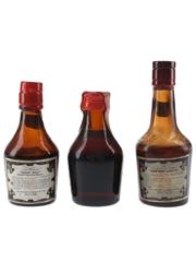 Irish Mist Bottled 1950s, 1960s & 1970s 3 x 4.5cl-5cl