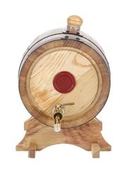 Maker's Mark Whiskey Barrel Dispenser
