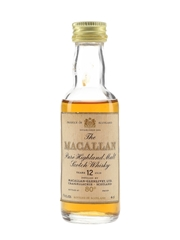 Macallan 12 Year Old 80 Proof