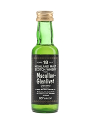 Macallan Glenlivet 18 Year Old