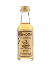 Macallan 1989 Sherry Cask 8837 Bottled 1998 - Blackadder International 5cl / 60.8%