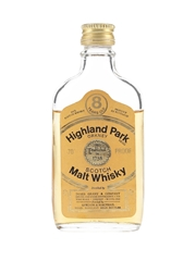 Highland Park 8 Year Old Bottled 1970s - Gordon & MacPhail 5cl / 40%