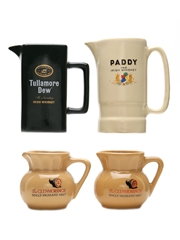 Assorted Whisky & Whiskey Jugs