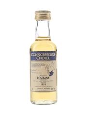 Rosebank 1991 Connoisseurs Choice Bottled 2000s - Gordon & MacPhail 5cl / 43%