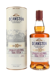 Deanston 10 Year Old Bordeaux Red Wine Cask Finish Travel Exclusive 70cl / 46.3%