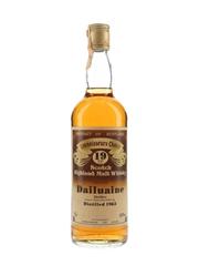 Dailuaine 1963 19 Year Old