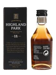 Highland Park 18 Year Old Bottled 1990s 5cl / 43%