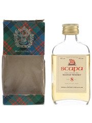 Scapa 8 Year Old Bottled 1980s - Gordon & MacPhail 5cl / 40%