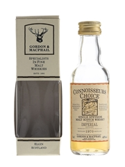 Imperial 1970 Connoisseurs Choice Bottled 1990s - Gordon & MacPhail 5cl / 40%
