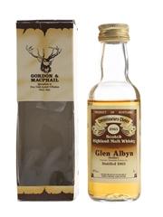 Glen Albyn 1963 Bottled 1980s - Gordon & MacPhail 5cl / 40%