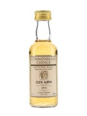 Glen Albyn 1972 Connoisseurs Choice Bottled 1996 - Gordon & MacPhail 5cl / 40%