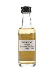 Bowmore 11 Year Old Bottled 1990s-2000s - Cadenhead's 5cl / 64%