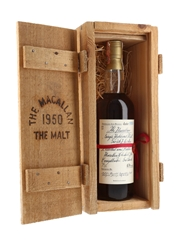 Macallan 1950 Handwritten Label Bottled 1981 - Rinaldi 75cl / 43%