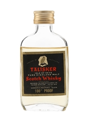 Talisker Black Label Gold Eagle 100 Proof Bottled 1970s - Gordon & MacPhail 5cl / 57%