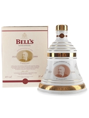 Bell's Christmas 2000 Ceramic Decanter