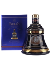 Bell's Christmas 2004 Ceramic Decanter