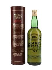 Miltonduff 12 Year Old Bottled 1980s 75cl / 43%