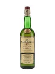 Glenlivet 12 Year Old Bottled 2000s 70cl / 40%