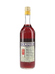 Campari Aperitivo Bottled 1970s - Suntory 100cl / 24%