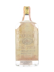 Gordon's Dry Gin Spring Cap Bottled 1950s-1960s - Wax & Vitale 75cl / 47%