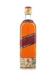 Johnnie Walker Red Label Bottled 1970s - Duty Free 75cl / 40%