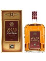 Logan 12 Year Old Bottled 1990s - White Horse Distillers 100cl / 43%