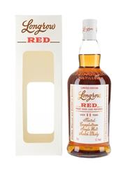Longrow Red 11 Year Old Pinot Noir Cask Matured Bottled 2019 70cl / 53.1%
