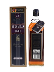 Bushmills 12 Year Old 1608 Special Reserve Duty Free 100cl / 43%