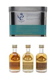 Bruichladdich Miniature Tasting Pack Links, Waves, Peat 3 x 5cl / 46%