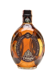 Dimple 12 Year Old De Luxe Bottled 1980s 75cl