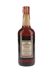 Old Overholt Straight Rye Whisky Bottled 1960s - Giovinetti 75cl / 43%