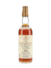 Macallan 1973 18 Year Old Bottled 1991 - Giovinetti 75cl / 43%